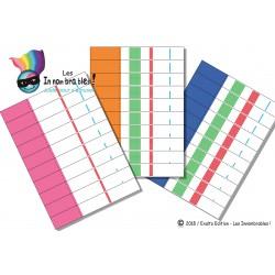 Fiches éducatives - Les décimales pour frise des Nombres - fichier numérique - Apprendre les décimales
