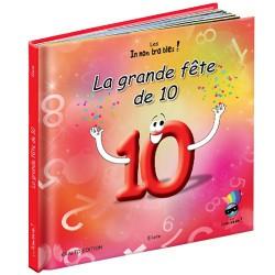 Livre éducatif- La grande fête de 10