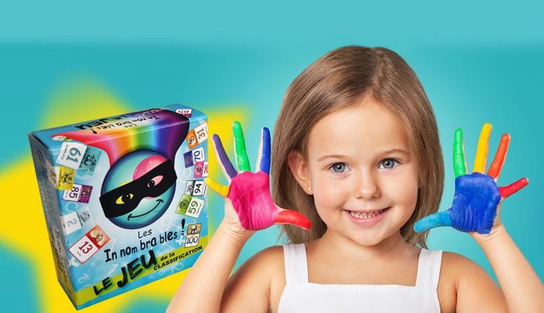 diapositive 2 enfant fillette mains peinture création