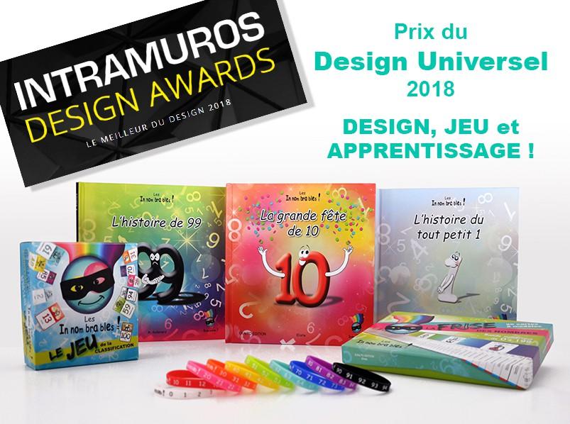 Les Innombrables remportent le prix spécial du design universel