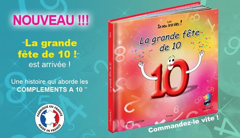 """Les Innombrables / Livre """"La grande fête de 10"""""""